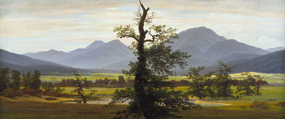 Village Landscape in Morning Light by Caspar David Friedrich | Buy Posters, Frames, Canvas  & Digital Art Prints