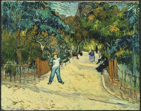 Entrance To The Public Gardens In Arles