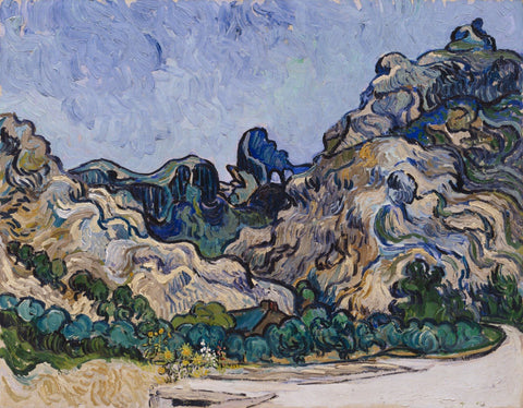 Vincent Van Gogh - Mountains At Saint Remy