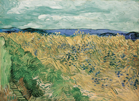 Vincent Van Gogh - Wheatfield With Cornflowers