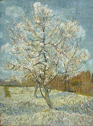 Vincent van Gogh - De roze perzikboom - The Pink Peach Tree