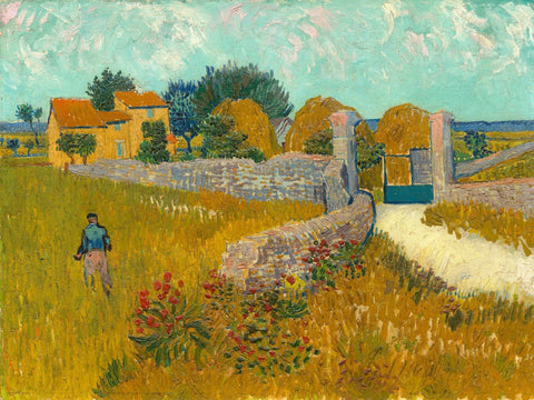 Vincent van Gogh - Farmhouse in Provence - 1888