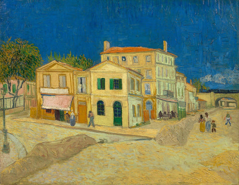 Vincent van Gogh - The Yellow House Arles