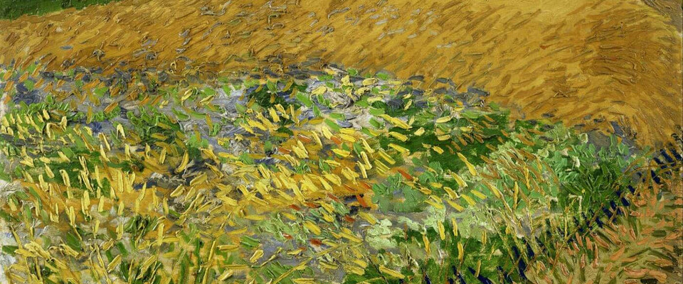 Vincent van Gogh - Wheatfield by Vincent Van Gogh | Buy Posters, Frames, Canvas  & Digital Art Prints