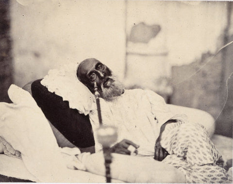 Vintage India - Photograph - Bahadur Shah Zafar Awaiting Trial by Anonymous Artist
