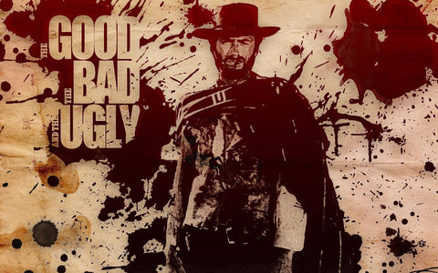 Vintage Movie Poster - The Good The Bad And The Ugly - Hollywood Collection
