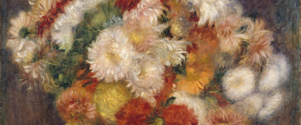 Bouquet of Chrysanthemums by Pierre-Auguste Renoir | Buy Posters, Frames, Canvas  & Digital Art Prints