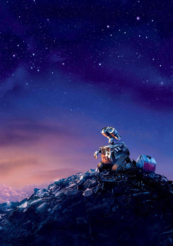 Wall E - Hollywood Animation Classic Movie Poster