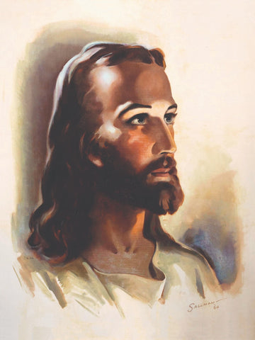 Warner Sallman - Head of Jesus Christ