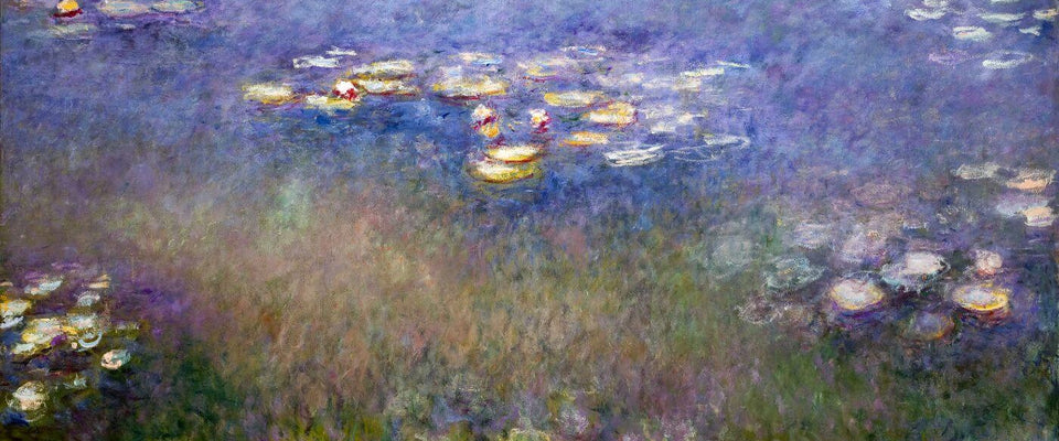 Water Lilies (St Louis)- Claude Monet by Claude Monet  | Buy Posters, Frames, Canvas  & Digital Art Prints