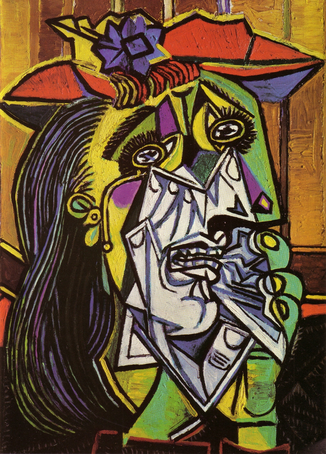 Image result for picasso weeping woman