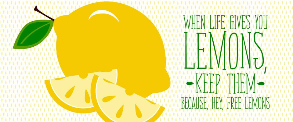 When Life Gives You Lemons by Tallenge Store | Buy Posters, Frames, Canvas  & Digital Art Prints