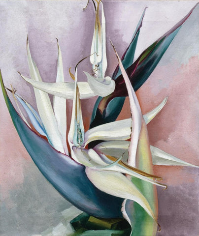 White Bird Of Paradise - Georgia OKeeffe