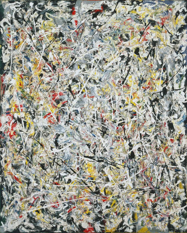 White Light - Jackson Pollock