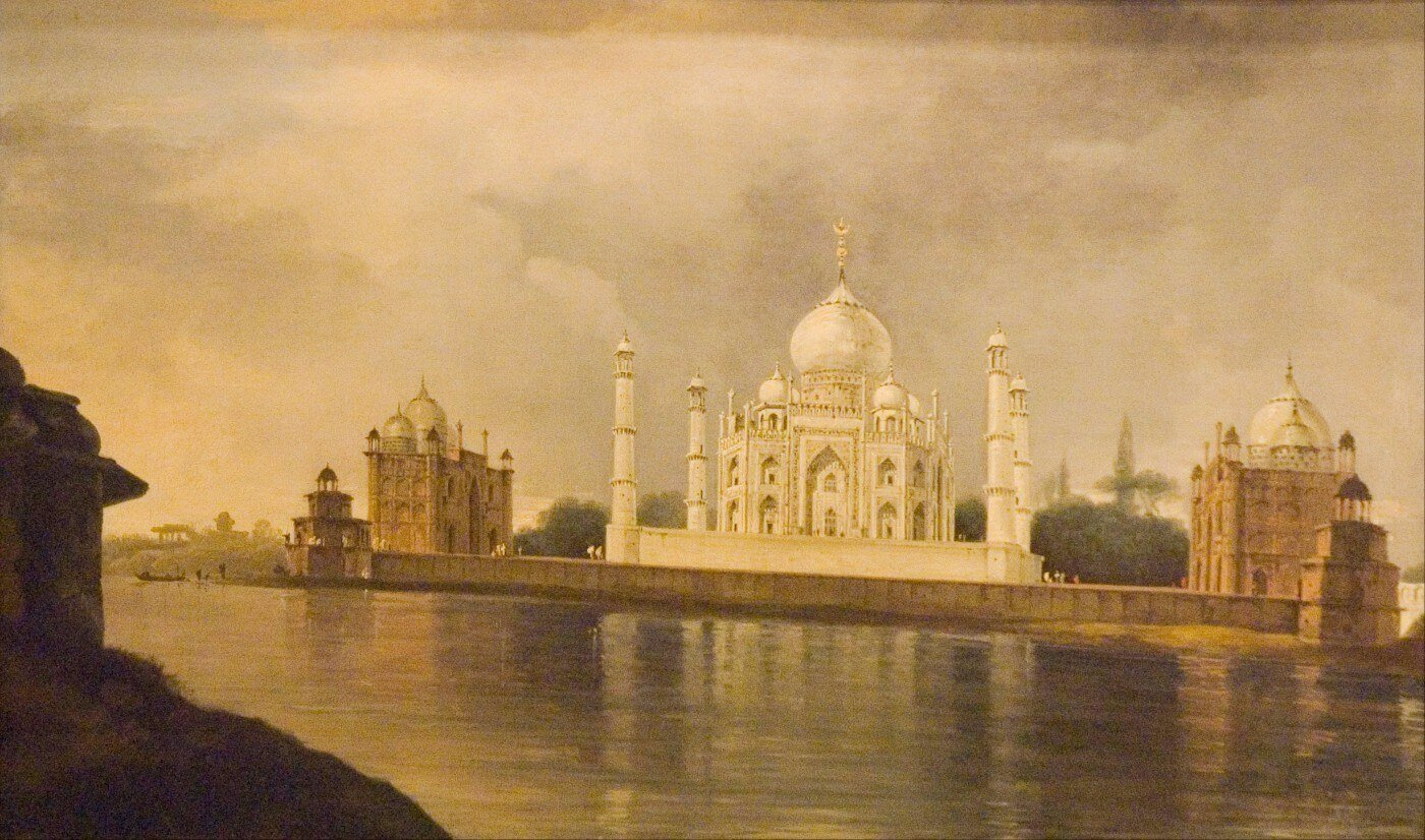 The Taj Mahal - Framed Prints by William Hodges | Buy Posters ...