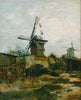 Windmills On Montmartre - Posters