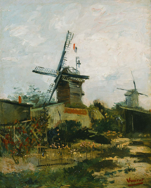 Windmills On Montmartre - Art Prints