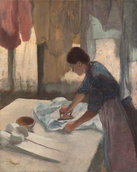 Woman Ironing - Posters