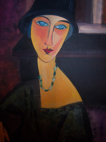 Woman With Blue Eyes