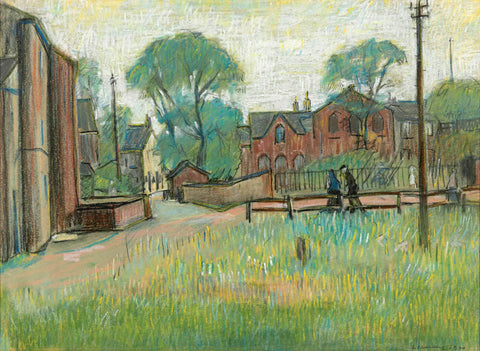 Worsley South East Lancashire - L S Lowry by L S Lowry