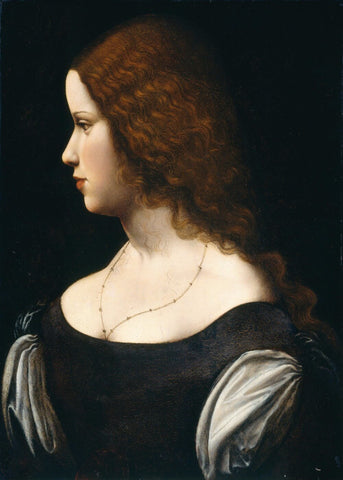 Young La Bella Principessa (Portrait Of A Young Lady)
