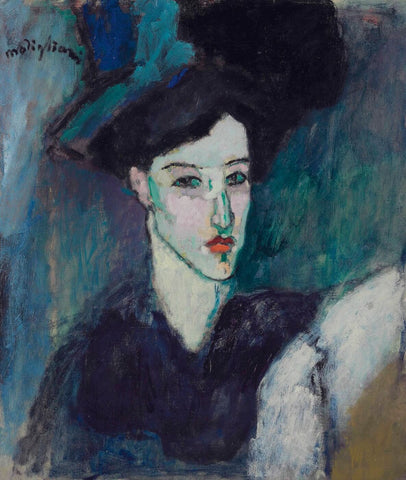 Amedeo Modigliani - La Juive (The Jewess)