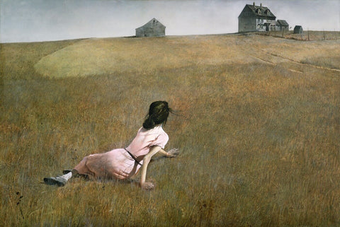 Christinas World by Andrew Wyeth
