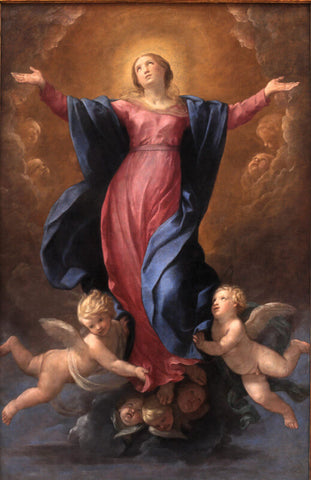 Assumption Of The Virgin by Annibale Carracci
