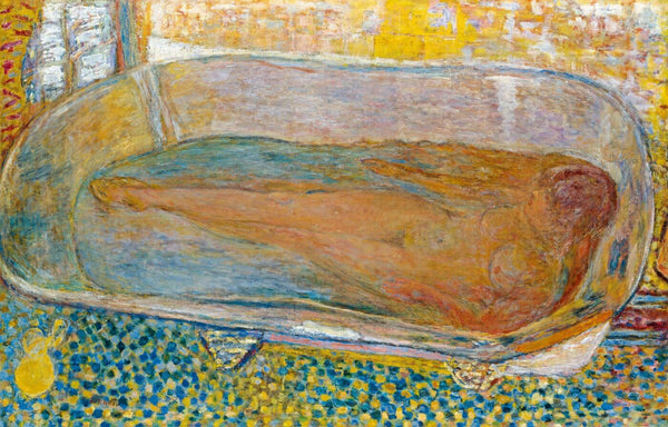 Life Size Posters of 'The Bath' - Life Size Posters by Pierre Bonnard