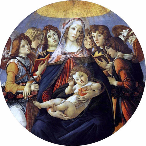 Madonna of the pomogranate