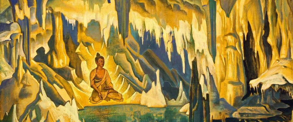 Buddha The Winner by Nicholas Roerich | Buy Posters, Frames, Canvas  & Digital Art Prints