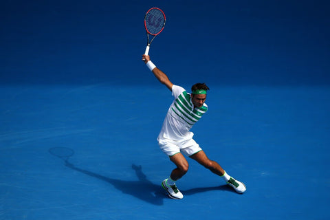 Roger Federer - Spirit Of Sports - Legend Of Tennis by Christopher Noel