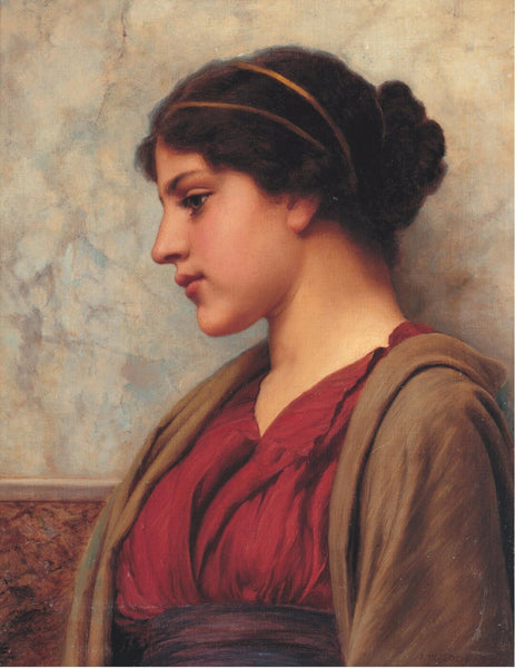 Large Artwork Prints of A Classical Beauty - Large Art Prints by John William Godward