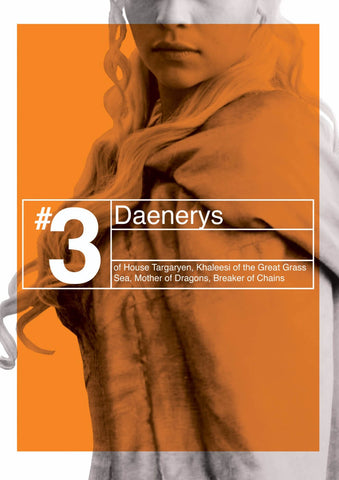 Art From Game Of Thrones - Daenerys Targaryen by Mariann Eddington