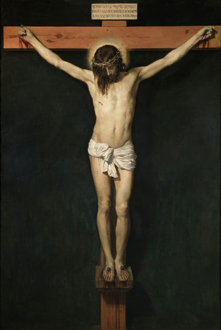 Cristo Crucificado - (Christ Crucified) by Diego Velazquez