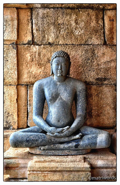 Photograph of Buddha - The Enlightened One by Lakshmana Dass