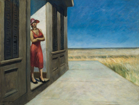 Edward Hopper - South Carolina Morning by Edward Hopper