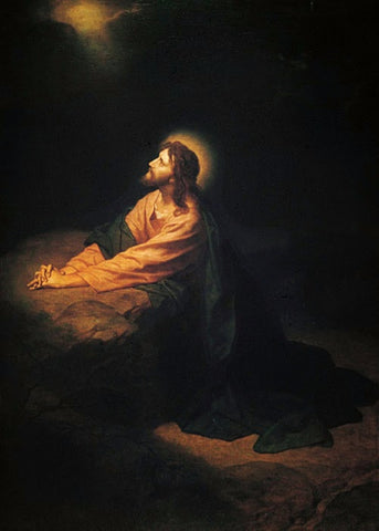 Christ In Gethsemane – Agony In The Garden