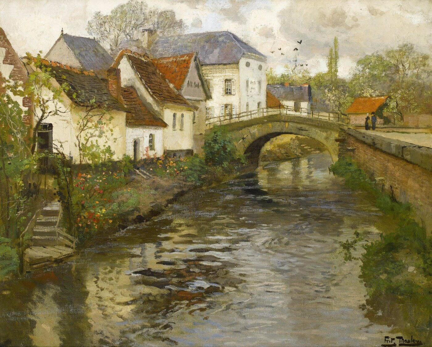 Frits Thaulow | Buy Posters, Frames, Canvas, Digital Art & Large Size Prints Of The Famous Modern Master's Artworks