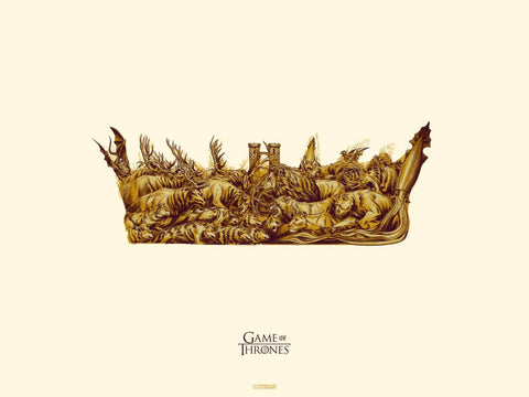 Art From Game Of Thrones - Crown
