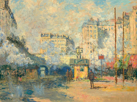 Claude Monet - La gare Saint-Lazare (The Saint-Lazare Station)