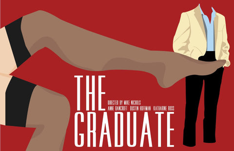 Tallenge Hollywood Collection - The Graduate - Movie Poster
