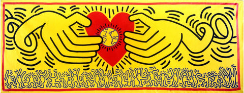 Keith Haring - Banner