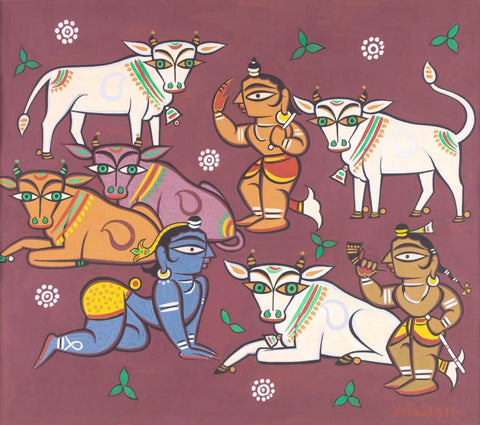 Deities And Cows