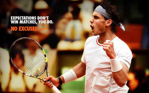 Spirit Of Sports - Expectations Dont Win Matches - Rafael Nadal by Christopher Noel