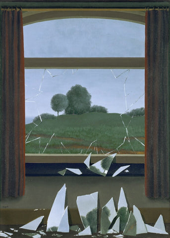 Door To Freedom ( La Clef Des Champs ) - Rene Magritte