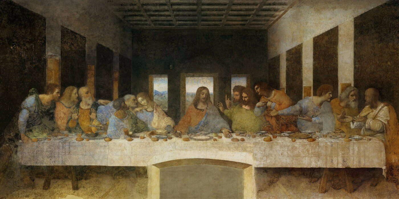 The Last Supper Large Art Prints By Leonardo Da Vinci Buy