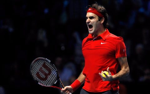 Roger Federer - Legend Of Tennis by Christopher Noel