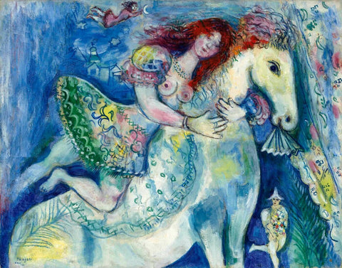 Circus Dancer (Le grand cirque) - Marc Chagall