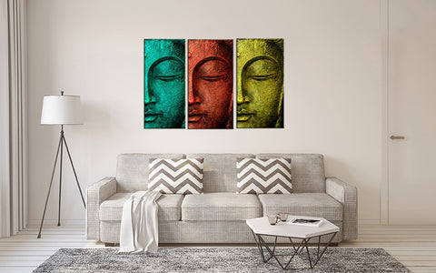 Rainbow Buddha - Art Panels - 18 x 24 inches (Final Size)